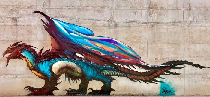 涂鸦频现春城 是艺术还是乱涂画引发众议