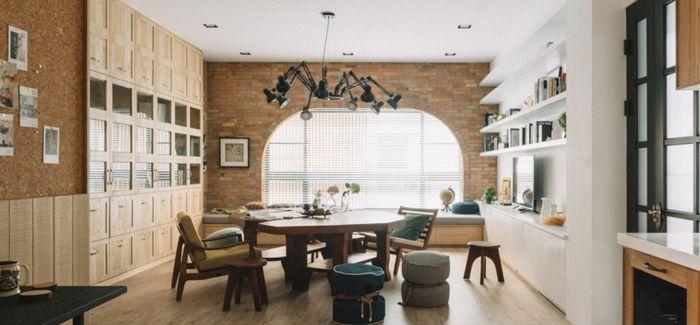 一套大房子的混合设计风格 by HAO Design