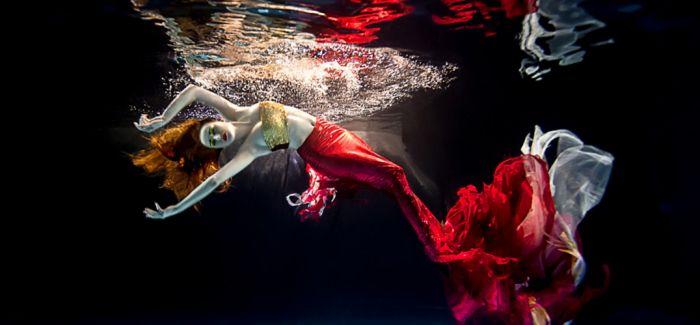 梦幻的水下人像摄影