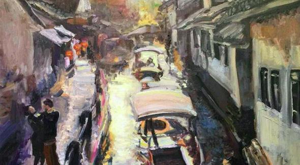 80多位画家齐聚北京,在东城做了一个不寻常的油画展