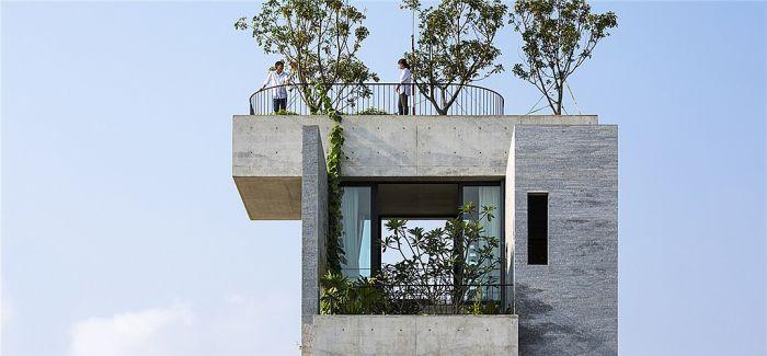 海风、吉他与爱情:胡志明市郊外一座混凝土小楼