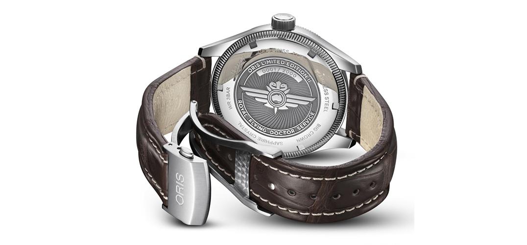 豪利时发布大表冠飞行员GMT腕表
