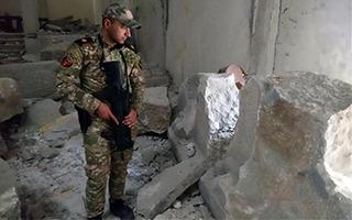 """摩苏尔博物馆遭""""伊斯兰国""""严重破坏"""