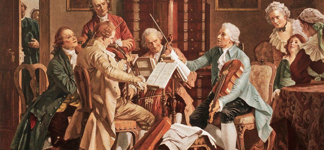古典音乐家三重奏:海顿 莫扎特 贝多芬
