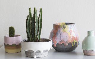 艺术家Brian Giniewski创作出正在融化的创意花盆