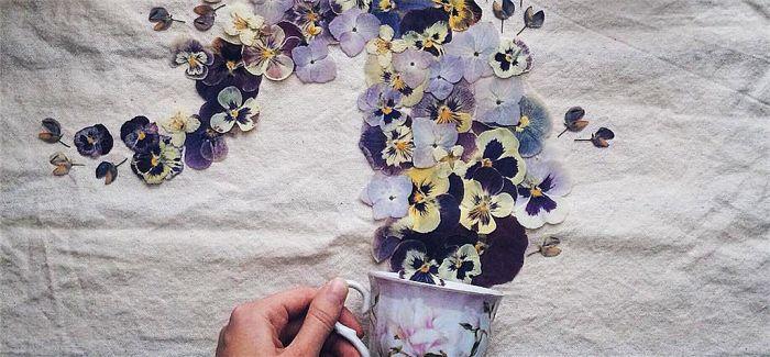 艺术家用照片诠释一壶香气四溢的