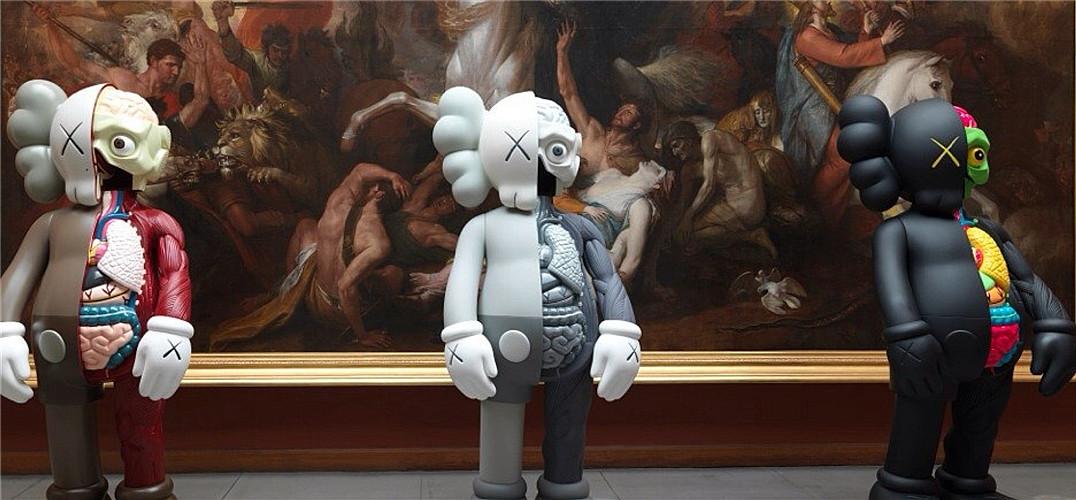 KAWS 来了!潮流艺术家亚洲首个大规模个展登陆上海
