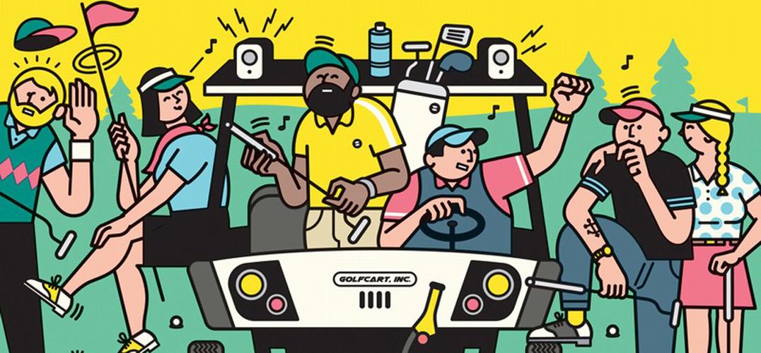 芬兰插画家Rami Niemi 以幽默风格描绘日常生活场景