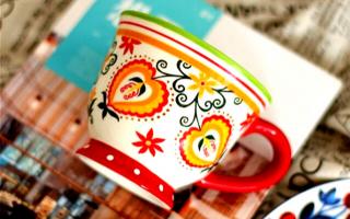Custom   手绘专属的咖啡杯套装  让品味与众不同