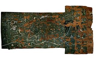 陕西汉墓发现迄今最完整二十八星宿图
