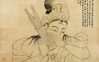"""""""岭南画派""""高剑父宗师画稿藏品台湾展"""