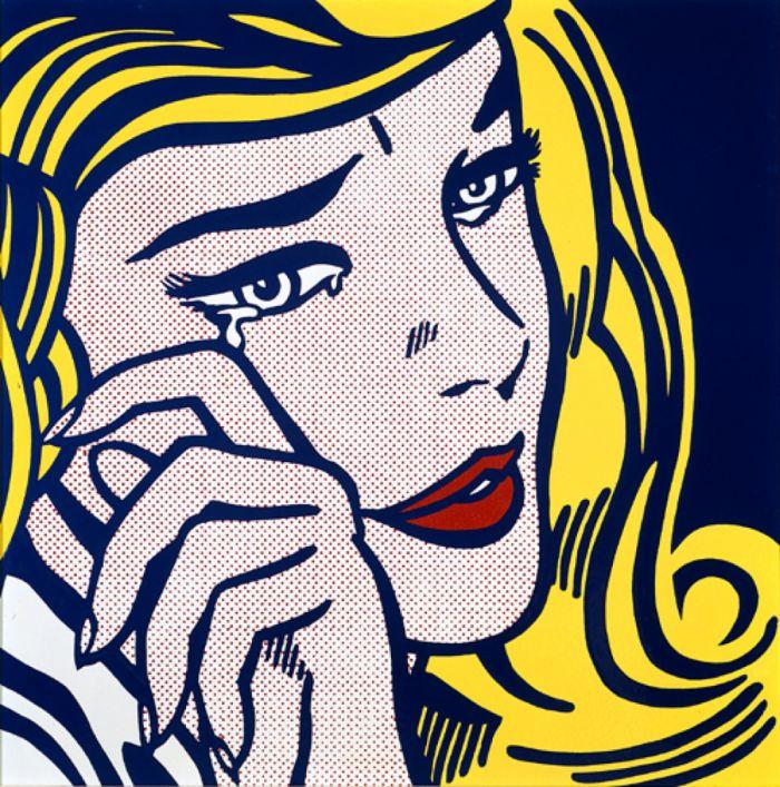 《哭泣的女孩》(1964)丨成交价 13,381,000美元
