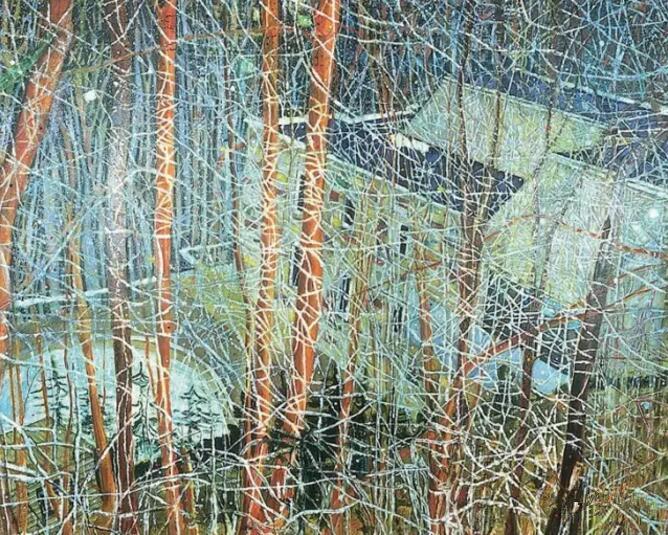 他的风景画价值过亿元 今天他的作品首次来到了中国
