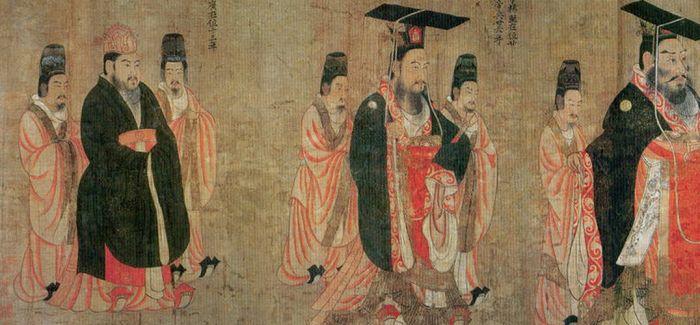 皇权的威仪——阎立本《历代帝王图》赏析