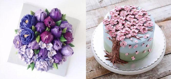 春日不仅能赏花 还能吃蛋糕!