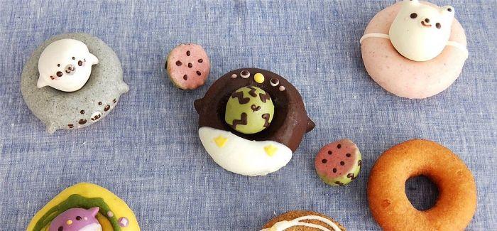 日本超人气童趣可爱造型动物甜甜圈