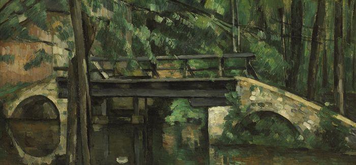 奥塞美术馆的名画故事─塞尚《曼西桥》