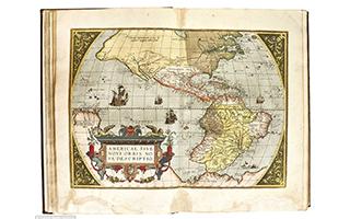 世界第一本现代地图册将拍卖 估价51万