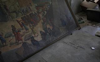 伊拉克摩苏尔收复战持续 博物馆遭毁空空如也