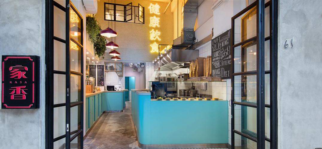 Lim + Lu设计了一个带有西方特色的香港本土餐厅
