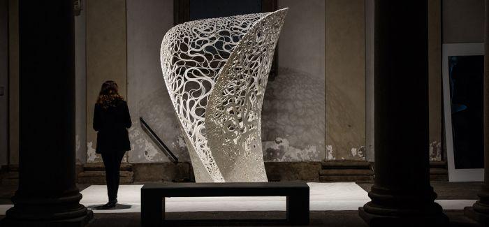 3D打印雕塑结构thallus亮相米兰设计周