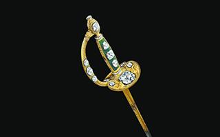 """拿破仑""""加冕之剑""""璀璨亮相故宫博物院"""