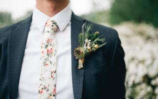去参加春夏季婚礼?花式领结让你沉闷的西装变得有趣起来