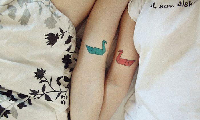 20位情侣用纹身纪念他们爱情的永恒