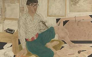 他是巴黎画派的著名画家 毕加索为他的画驻足!