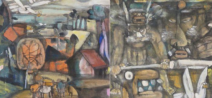 连环画绘本《伯鲧献身》 中华创世神话文艺创作工程