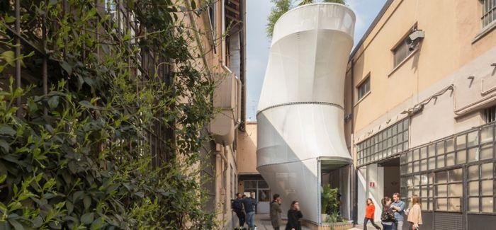 2017米兰国际设计周创意装置建筑Breathe