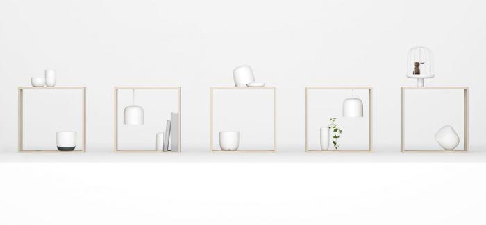 2017年米兰设计周 nendo为flos作品打造微型室内空间