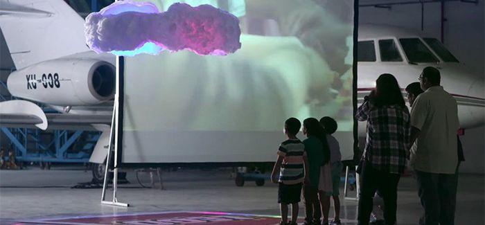 乐高集团发明无人机驱动的糖果云