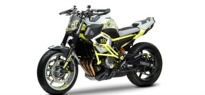 barbara定制改装摩托车概念图 达到融合的最高境界