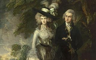 英国国家美术馆遭破坏油画《清晨散步》修复完成