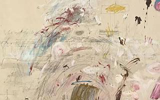 """赛·托姆布雷:""""诗人""""画家"""
