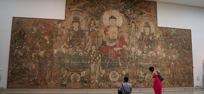 中国现存最早的大型寺观壁画 如何通过数字再现?