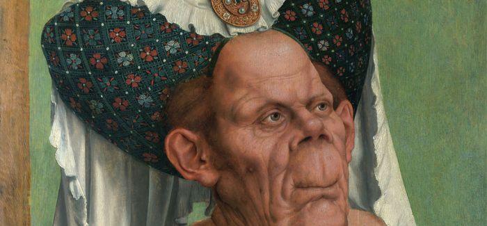 画里的模特又老又丑 却吸引了好多观众