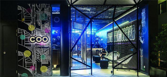 新加坡COO概念酒店将社交、住宿、酒吧融为一体