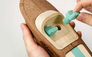 设计师为意大利Riva造船公司设计船模玩具