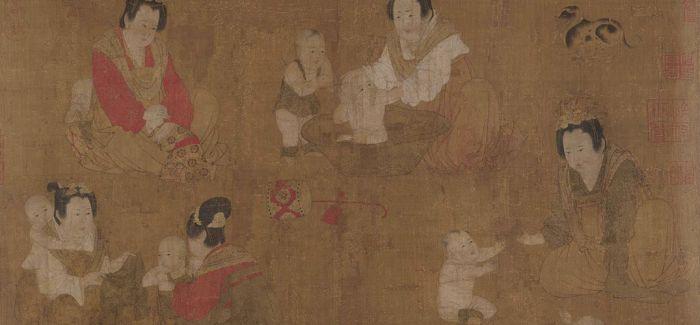 博物馆里的中国古代美女