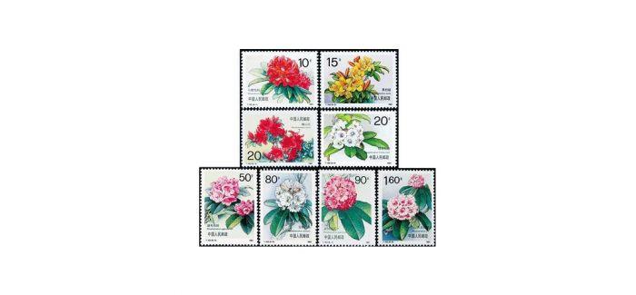 邮票上的杜鹃花