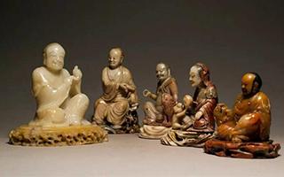 中国嘉德春拍:国石篆刻之清代寿山石佛像圆雕