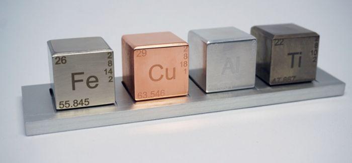 让化学迷一眼心醉的元素方块!