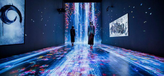 新媒体艺术新贵teamLab中国首展