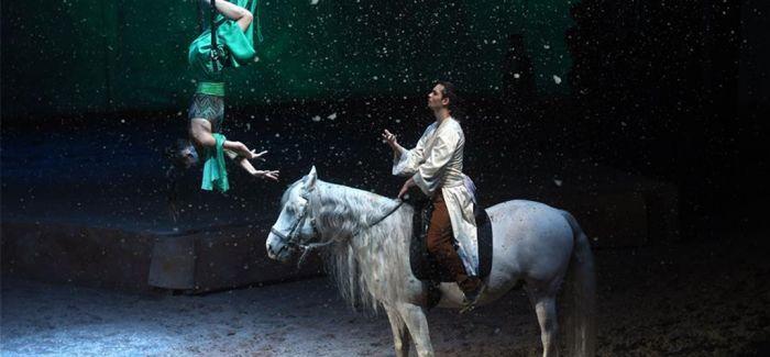 《舞马》归来添雪景