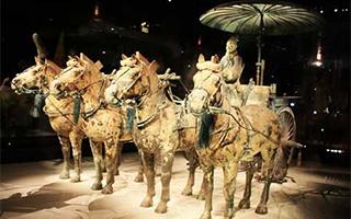 秦始皇兵马俑坑将改造 铜车马出土原址建博物馆
