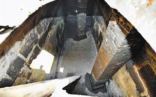 法国水师兵营旧址遗迹 藏开埠时期自供水系统