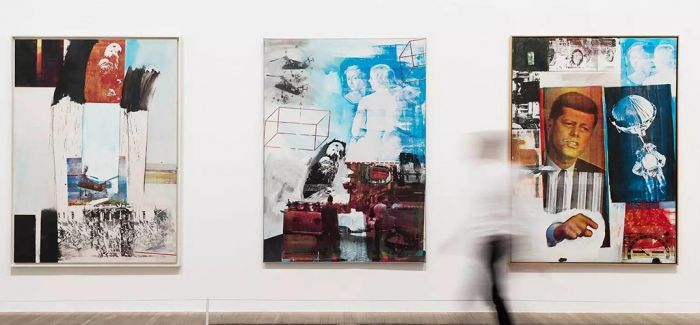 伦敦泰特:用一个展览看明白不可归类的劳申伯格