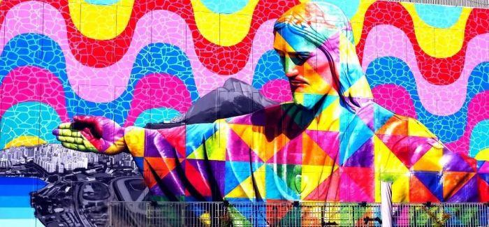 """为复活节献上的""""全球最大壁画""""并刷新吉尼斯纪录"""